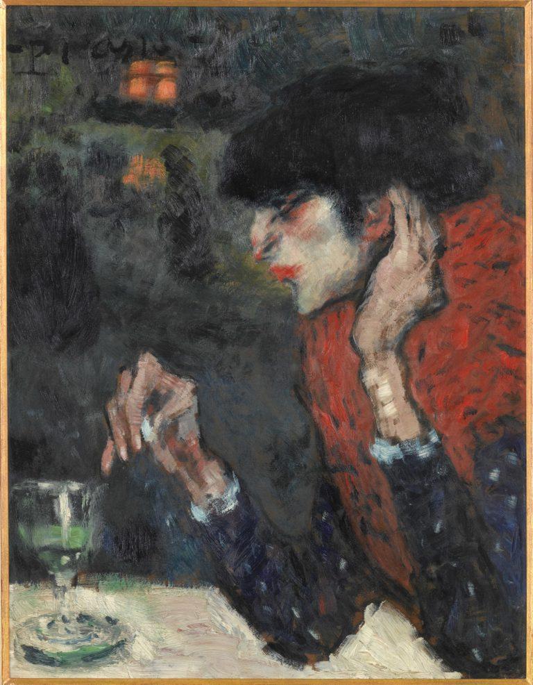 Buveuse d'absinthe Musée d'Orsay