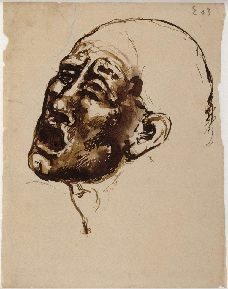 Tête de femme criant Musée national Picasso Paris