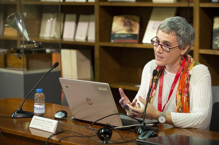Un moment de les Jornades sobre el patrimoni sonor i audiovisual   Biblioteca de Catalunya – Oriol Miralles