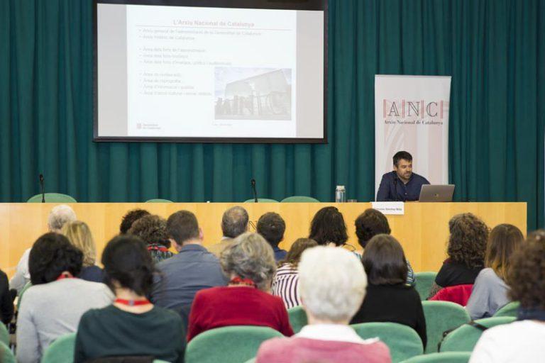 Jornades sobre el Patrimoni Sonor i Audiovisual   Arxiu Nacional de Catalunya