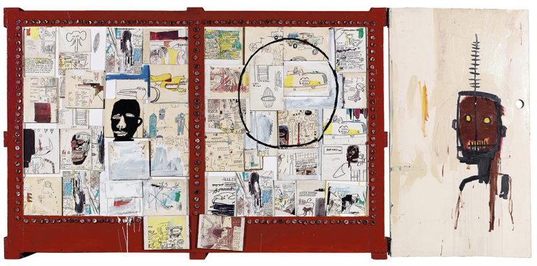 'Negro Period', 1986 @ Jean-Michel Basquiat