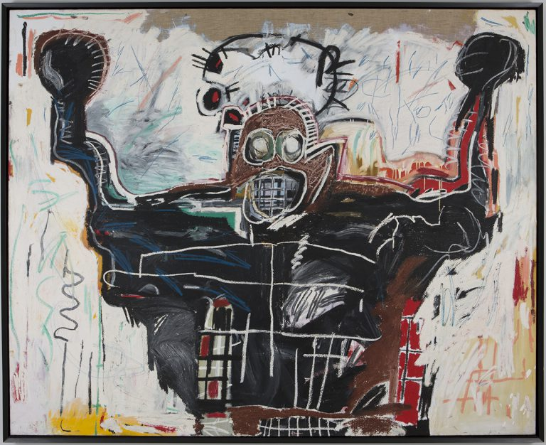 'Untitled Boxer', 1982 @ Jean-Michel Basquiat