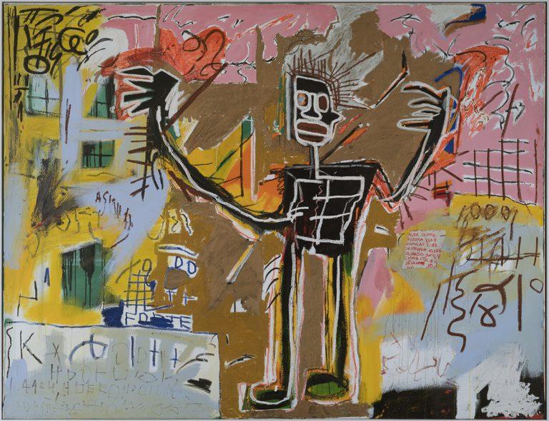 'Untitled Tenant', 1982 @ Jean-Michel Basquiat