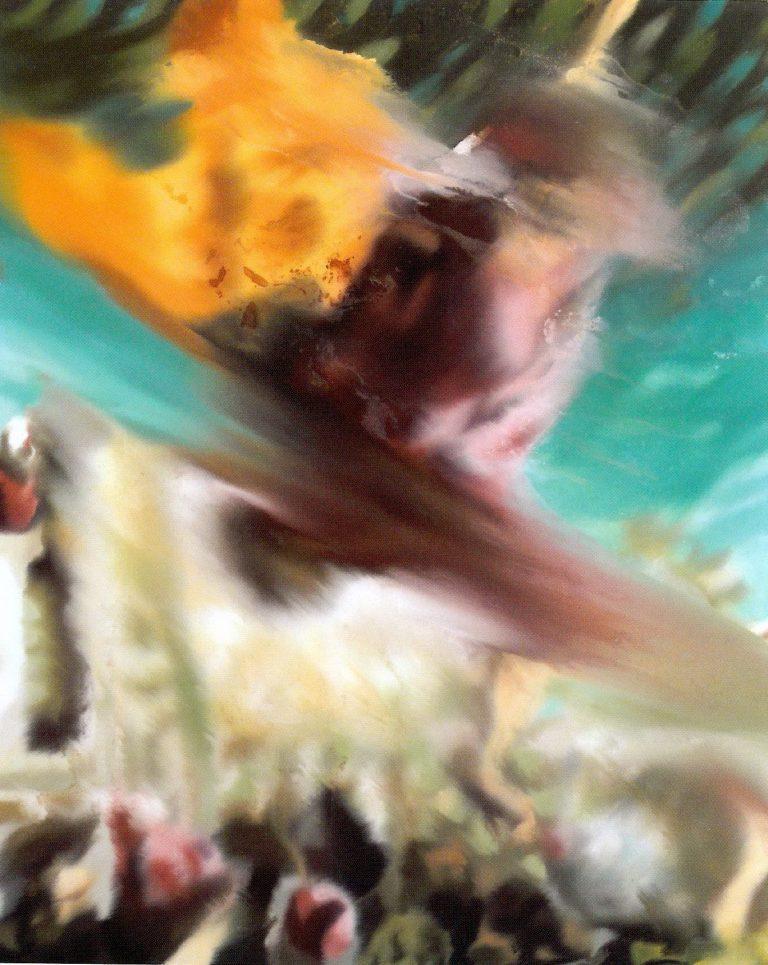 'Estudio (32) para variaciones d''El milagro de San Marcos' de Tintoretto', de Jorge R. Pombo