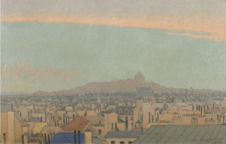 'Vista de Montmartre', 1900 | Charles Lacoste
