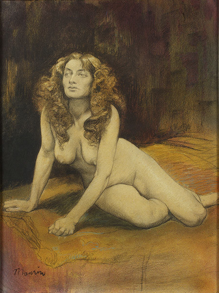 'Dona nua', de Charles Maurin (1856-1914) | CaixaForum