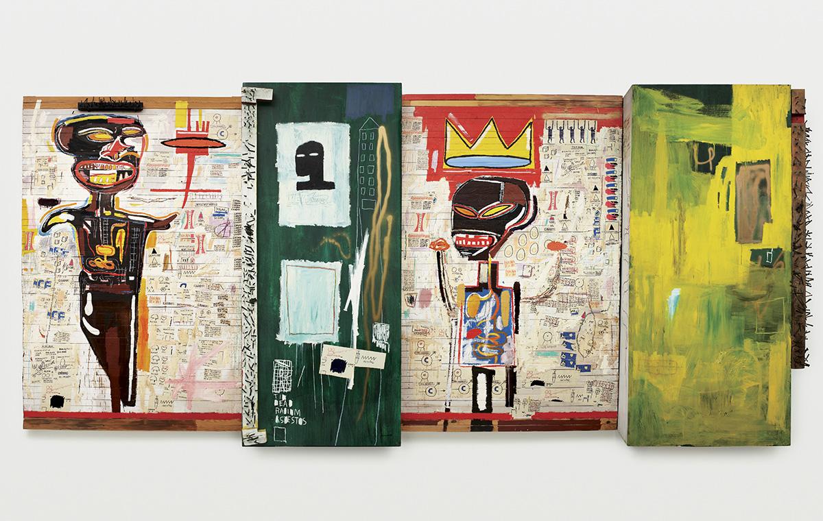 L'obra 'Grillo', del 1984. Acrílic sobre paper              | Jean-Michel Basquiat
