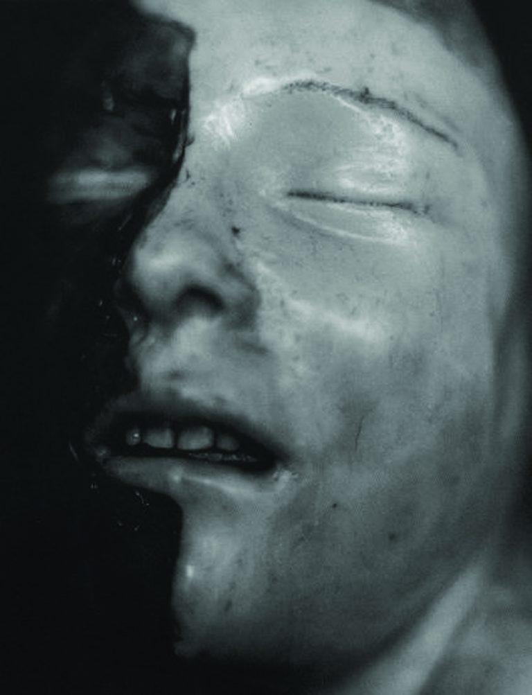 Valentín Vallhonrat: 'Cristal oscuro, núm. 40', gelatina de plata i alumini (1994).