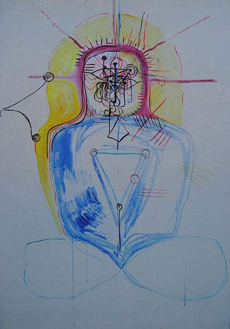L'obra plàstica d'Escuder deu molt als automatismes de la psicodèlia | Ajuntament de Girona.