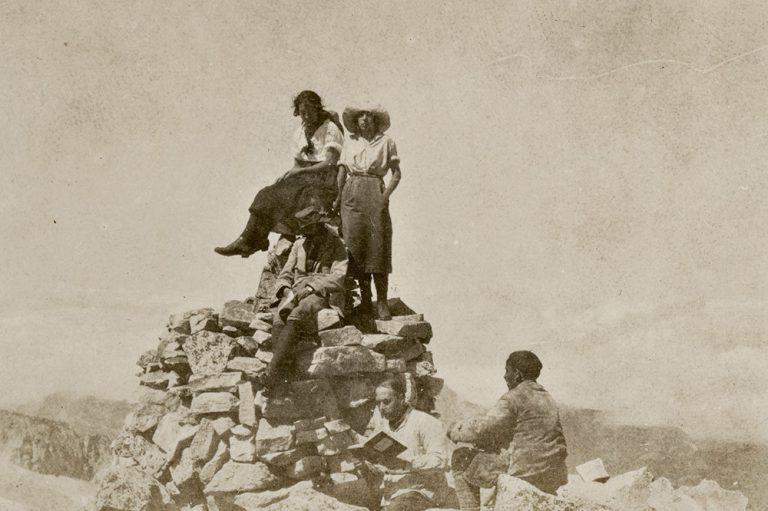 Ascens al pic d'Aneto, de l'11 al 19 d'agost de 192 Benasc (Osca), autor desconegut, còpia de revelatge al gelatinobromur de plata, 5,9 x 8,4 cm.