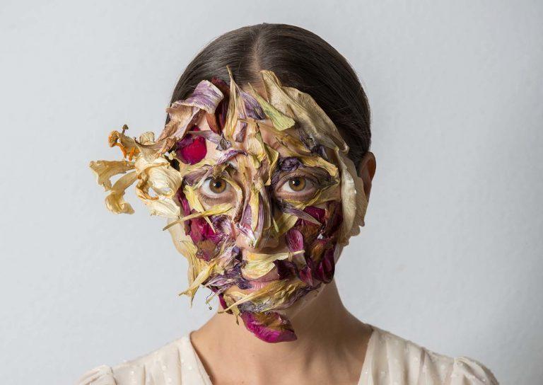 Lola Guerrera: 'Rostro marchito', còpia sobre paper Hahnemühle (2012).