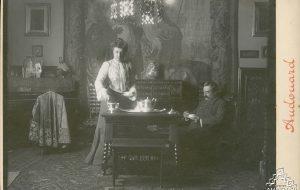 Antoni i Teresa Amatller (entre 1900 i 1909)              | Pau Audouard