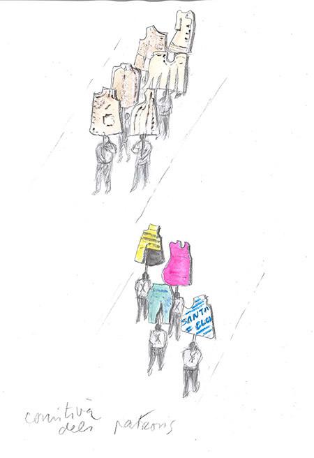 Dibuix del projecte 'Santa Eulàlia 175', d'Antoni Miralda