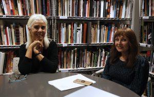 Nekane Aramburu, directora d'Es Baluard. Museu d'art modern i contemporani de Mallorca, i Elena Ruiz, directora del MACE, el Museu d'Art Contemporani d'Eivissa              | Isaac Buj