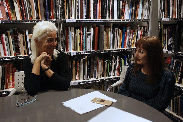 Aramburu i Ruiz, en la conversa amb El Temps de les Arts | Foto: Isaac Buj