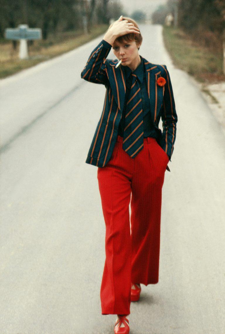 Armenonville, 1970, Saint Laurent Fashion per a Vogue France