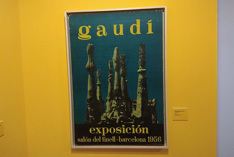 Cartell de l'exposició al Tinell de Gaudí | Ramon Casalé
