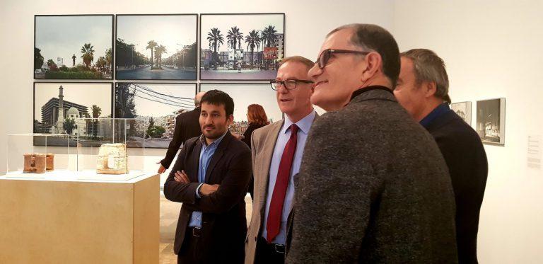 José Guirao, ministre de Cultura, durant la recent visita a València. En la fotografia, junt al conseller Vicent Marà i el director de l'IVAM, José Miguel G. Cortés.