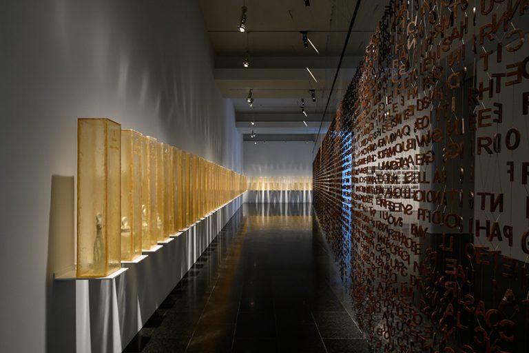 Jaume Plensa. Vista de l'exposició. Foto: Miquel Coll