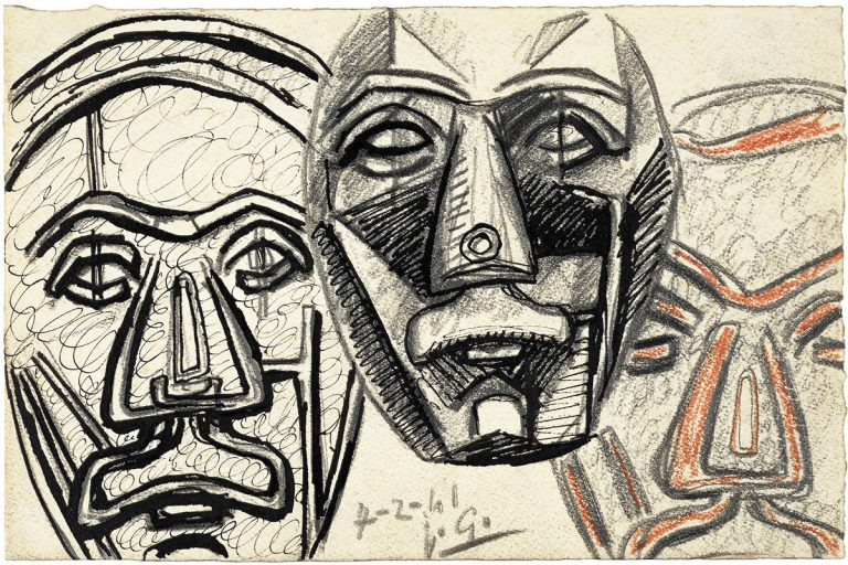 Etudes De Masques 1941 @ Juli González