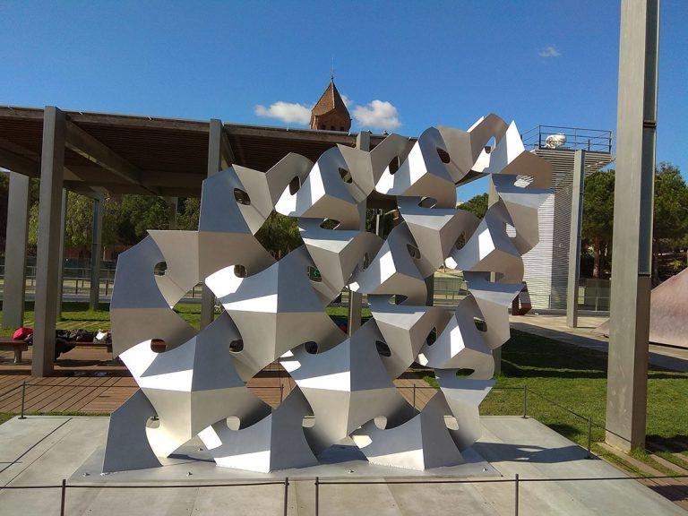 Estructura bàsica de tessel·lat arquimedià. Foto: Ramon Casalé