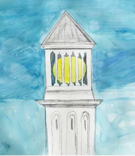 Element de l'exposició d'Anna Dot i Aldo Urbano a les Torres Venecianes de la plaça d'Espanya