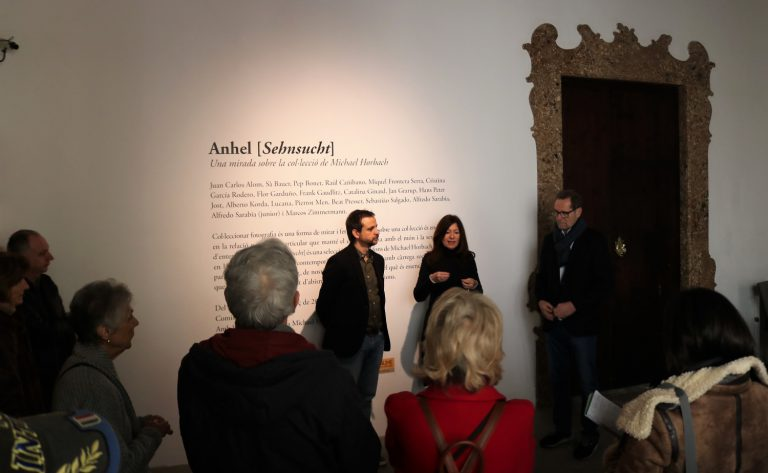 Presentació de l'exposició al Casal Solleric
