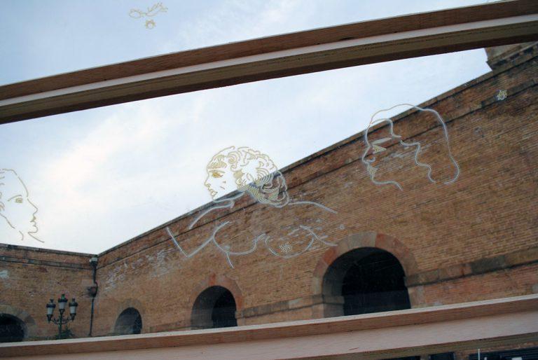 'Impasse', instal·lació de Julia Calvo
