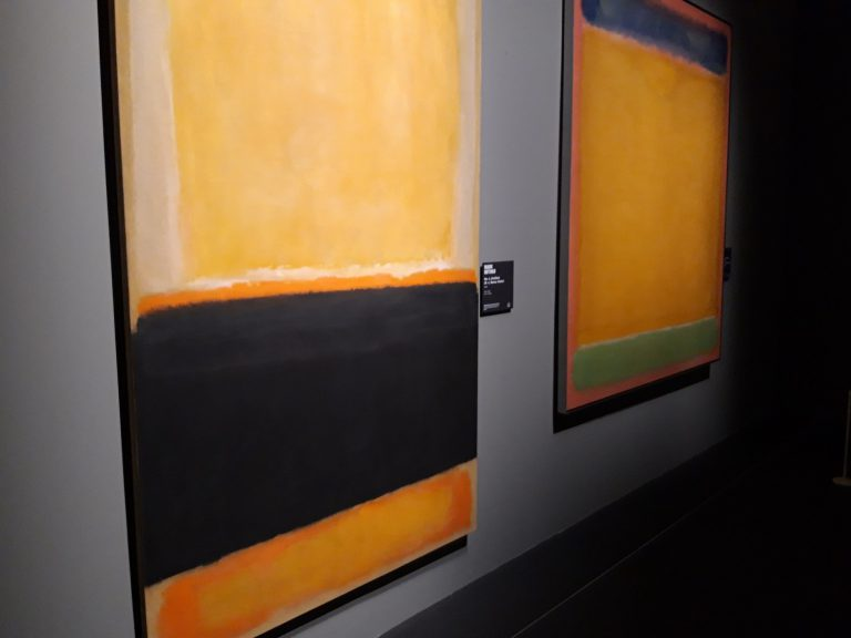 Secció dedicada a Mark Rothko.