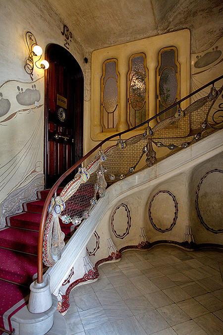 Interior de la Casa Sayrach