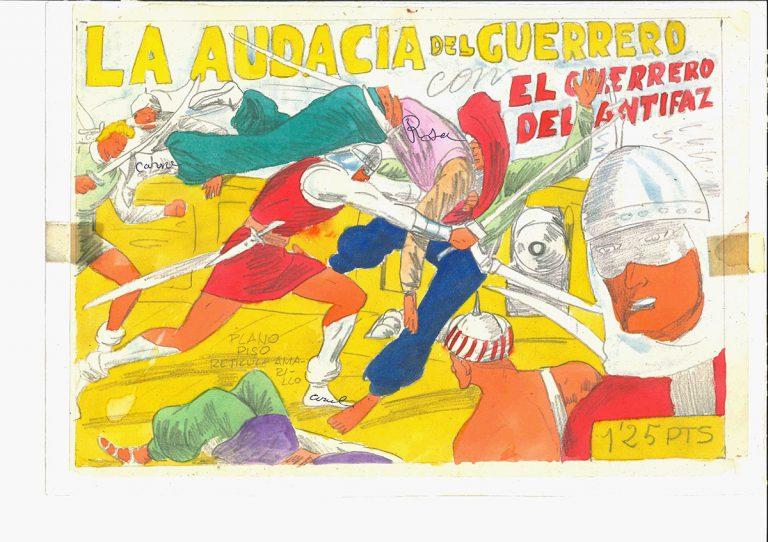 Manuel Gago, El guerrero del antifaz (1948)