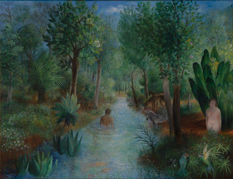 Olga Sacharoff, Paradís (c. 1929). Col·lecció ABA Gallery (Nova York).