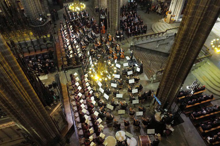 La Catedral, de gala per Montserrat Caballés | Antoni Bofill