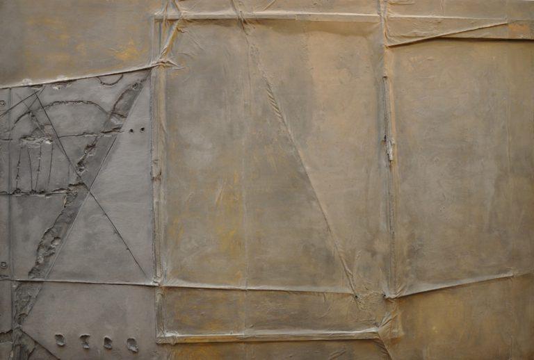 Antoni Tàpies. Gran tela grisa per a Documenta, 1964 © Comissió Tàpies / Vegap, 2018.