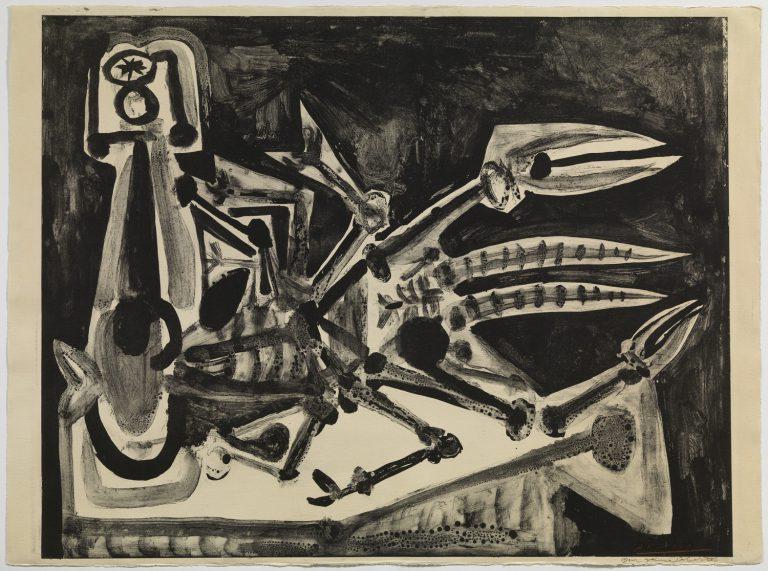 Pablo Picasso, El llamàntol, 1949. Fotografia Museu Picasso, Barcelona. Fotografia, Gasull Fotografia© Successió Pablo Picasso, VEGAP, Madrid 2018.