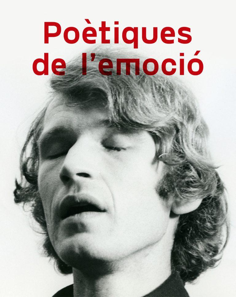 Cartell de l'exposició 'Poètiques de l'emoció' al CaixaForum