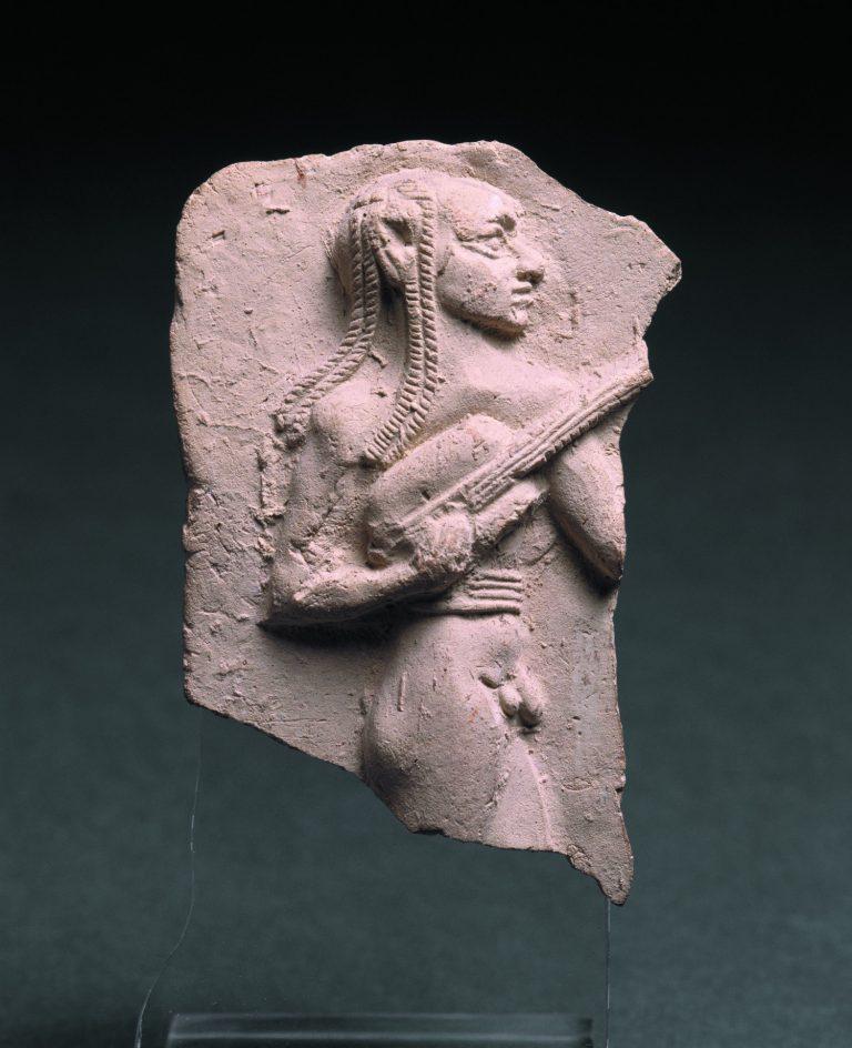 Llaütista estranger(?), 2004-1763 aC. Eixnunna (?) (Iraq). Argila. Musée du Louvre. © RMN-Grand Palais, Musée du Louvre. Foto: Hervé Lewandowski