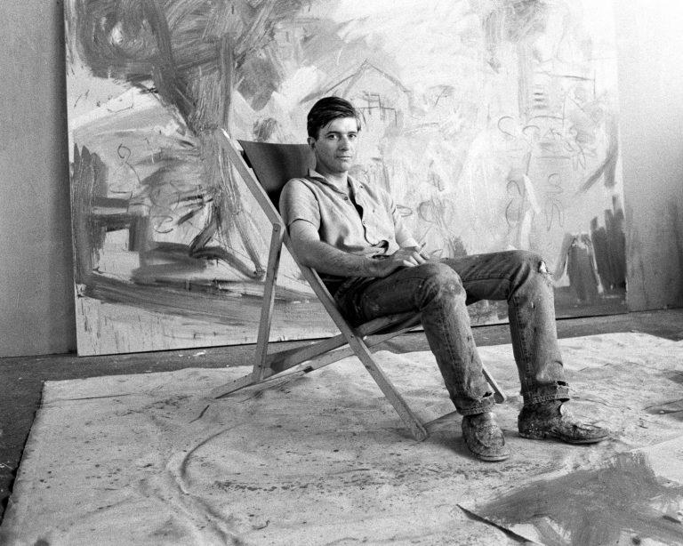 Jean Marie del Moral, Miguel Ángel Campano, Bagnolet,1986.Fotografia digital en blanc i negre. Col·lecció particular © de la fotografia, Jean Marie del Moral, 2018
