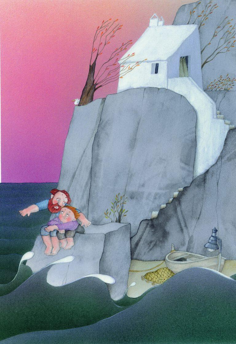 Il·lustració deLa Lluna d'en Joan(1982).
