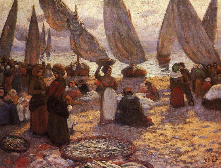 Retorn de les barques, de Ramon Pichot