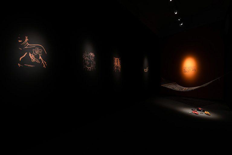 L'exposició Organolèptic, de Duen Sacchi. Foto: Pep Herrero
