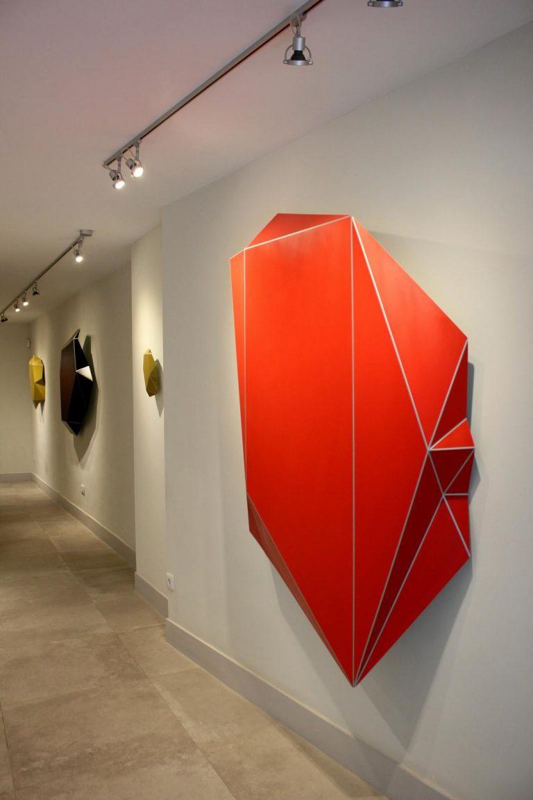 """Algunes de les obres de la sèrie """"Flexia""""."""