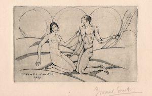 Adam i Eva, 1923              | Ismael Smith