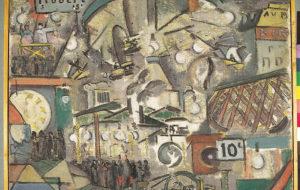 Pierre Brune / La fête foraine / 1914 / Huile sur toile / 60 x 81 cm / Don de l'artiste / Photo Joseph Gibernau / Studio Pyrénées © Pierre Brune