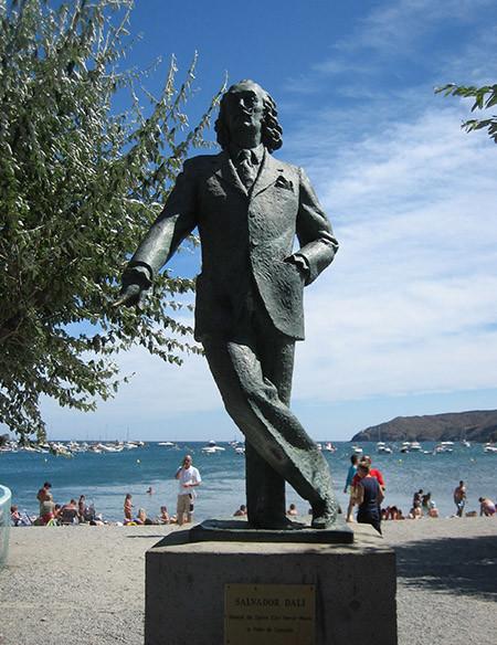 Estàtua de Dalí a Cadaqués