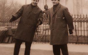 Els germans Ernesto i Francesc Fèlix, fundadors de Joventuts Musicals de Maó.              | Foto de l'arxiu familiar