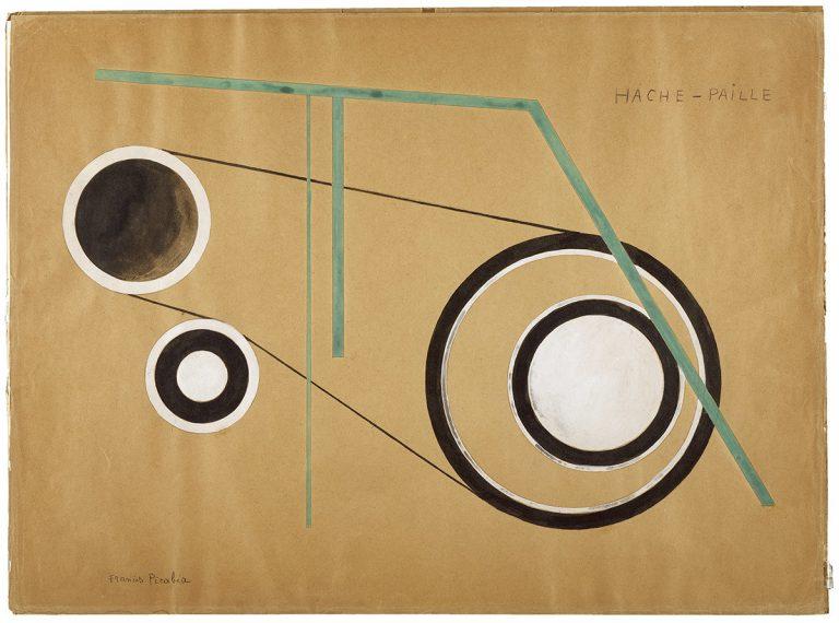 Francis Picabia, 'Hache-Paille (Picador de palla)', 1922 © Francis Picabia, VEGAP, Barcelona, 2017