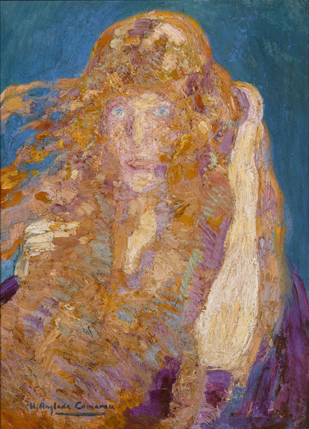 Cap amb els cabells al vent, 1930 | Anglada-Camarasa