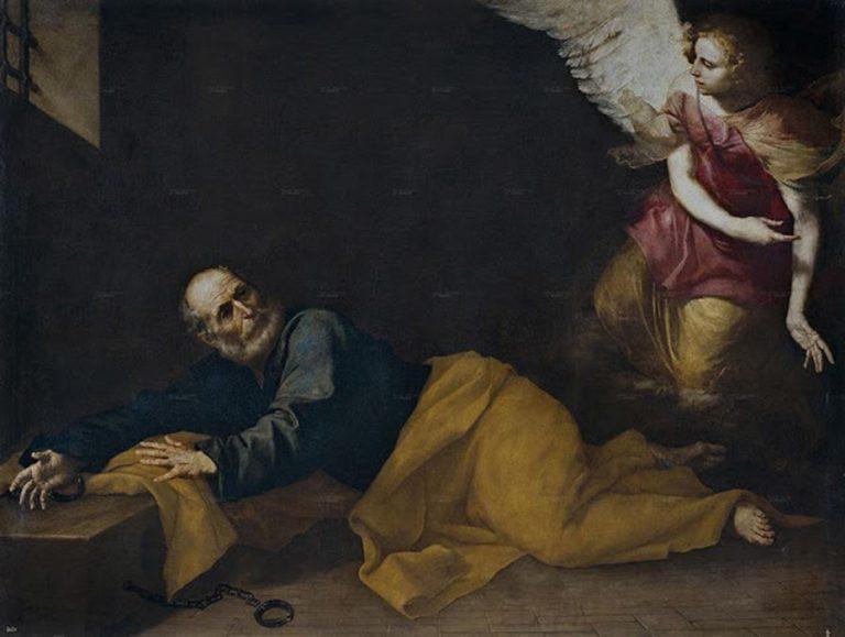 'Sant Père alliberat per un àngel', Ribera