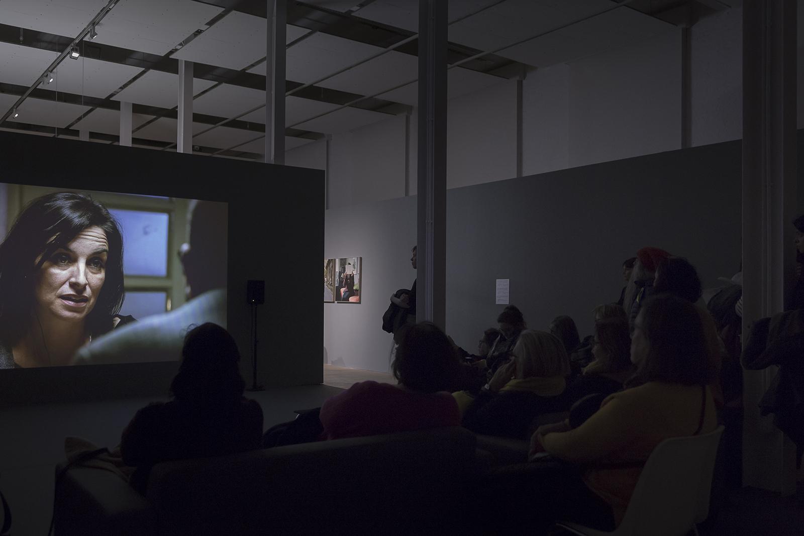 Projecte sobre l'amor a Sèrbia de Mireia Sallarès. Fabra i Coats. Centre d'Art Contemporani. Fotografia de Eva Carasol              | Mireia Sallarès